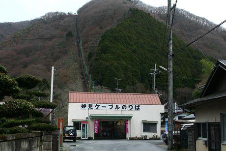 妙見ケーブル黒川駅