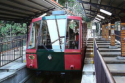 比叡山鉄道のケーブルカー